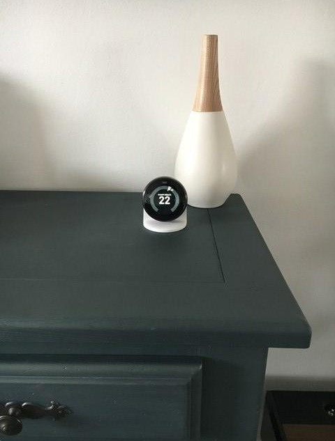 Thermostat NEST Learning avec support