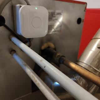 Montage HeatLINK sur Chaudière gaz