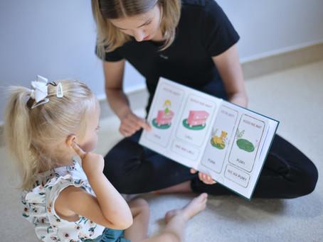 Jak wspierać dziecko z opóźnionym rozwojem mowy w domu (ćwiczenia).