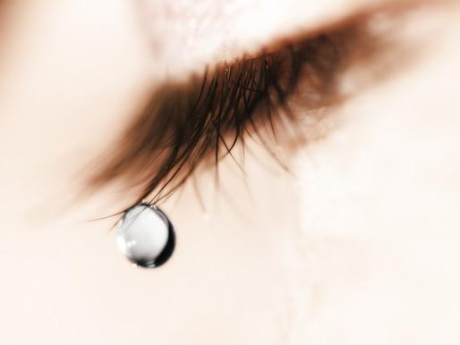 Por que não devemos segurar as lágrimas?