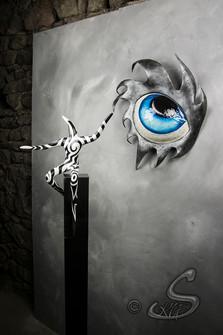 "Décor mural ""Believe"""