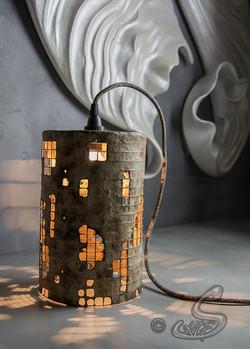 Lampe de table éclairée