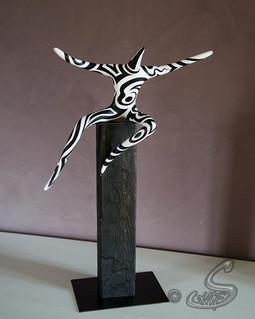 Collection de sculptures Les Pas Pareils, œuvre TADA!