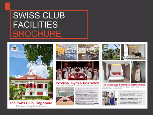 [BROCHURES] Swiss Club Facilities
