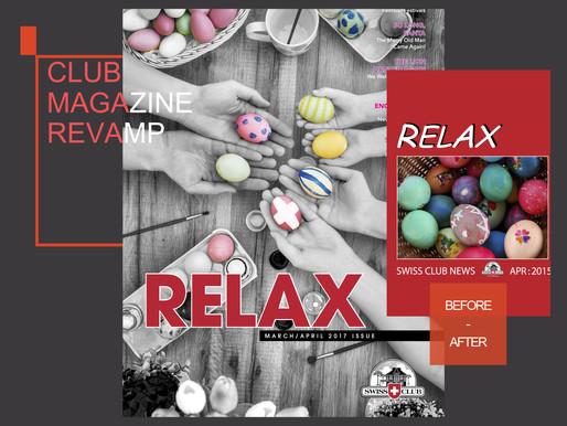 [MAGAZINE] Revamping & Redesigning the Swiss Club's Magazine 'RELAX'