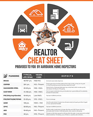 Realtor Cheat Sheet A