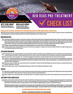 Bed Bugs Pre Treatment Checklist Thumbna