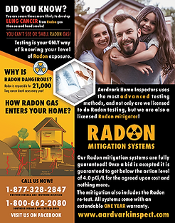 Radon Mitigation Flyer - Side 2