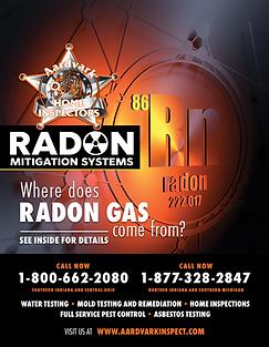Radon Mitigation Flyer - Side 1
