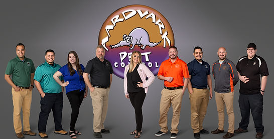 Aardvark Pest Control Inc. Team