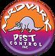 Aardvark Pest Control Inc. Logo