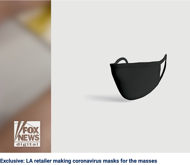 LA retailer Buck Mason makes masks for the masses to protect against coronavirus