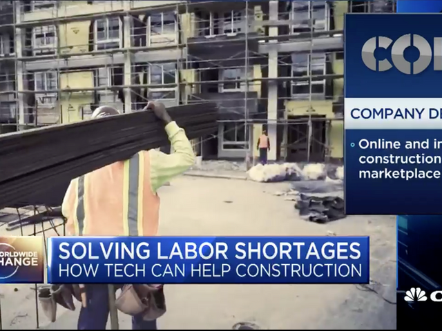 Crews by Core, Construction on CNBC