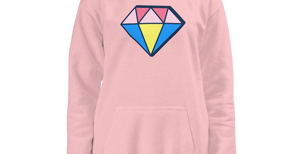 Diamante Girls Kids Hoodie