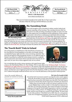 The White Rose Newsletter Issue 1 (MASTE