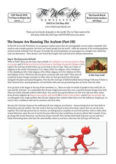The White Rose Newsletter Issue 6 (MASTE