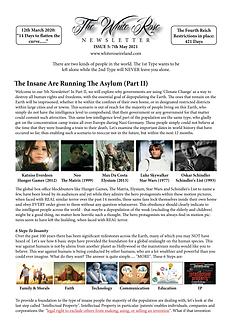 The White Rose Newsletter Issue 5 (MASTE
