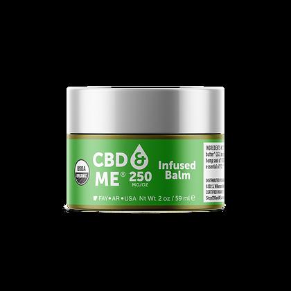 CBD & Me Organic Balm 250 MG/OZ