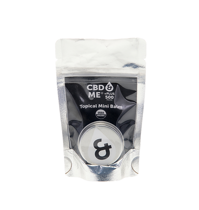 CBD & Me Organic Balm Mini 500 MG/OZ