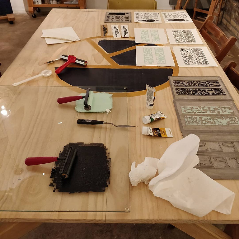 Relief Printing 101