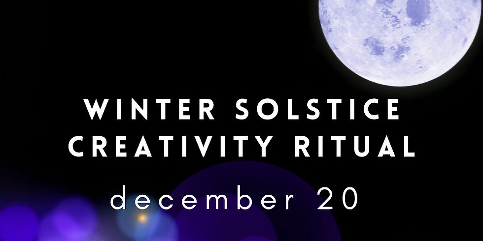 Winter Solstice Creativity Ritual