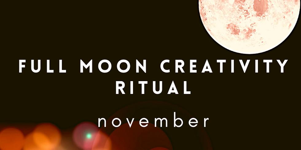 November Full Moon Creativity Ritual: Shadows