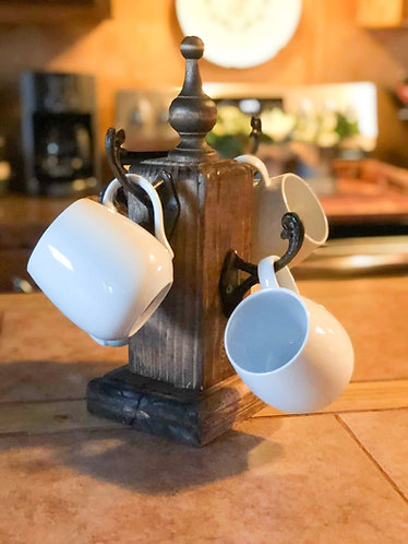 Farmhouse Coffee Mug Holder