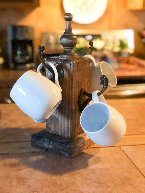 Farmhouse Coffee Mug Holder
