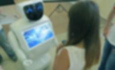 робот на выставку