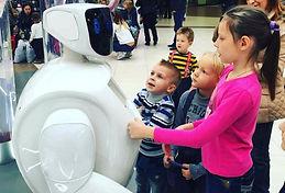 области применения рекламных роботов