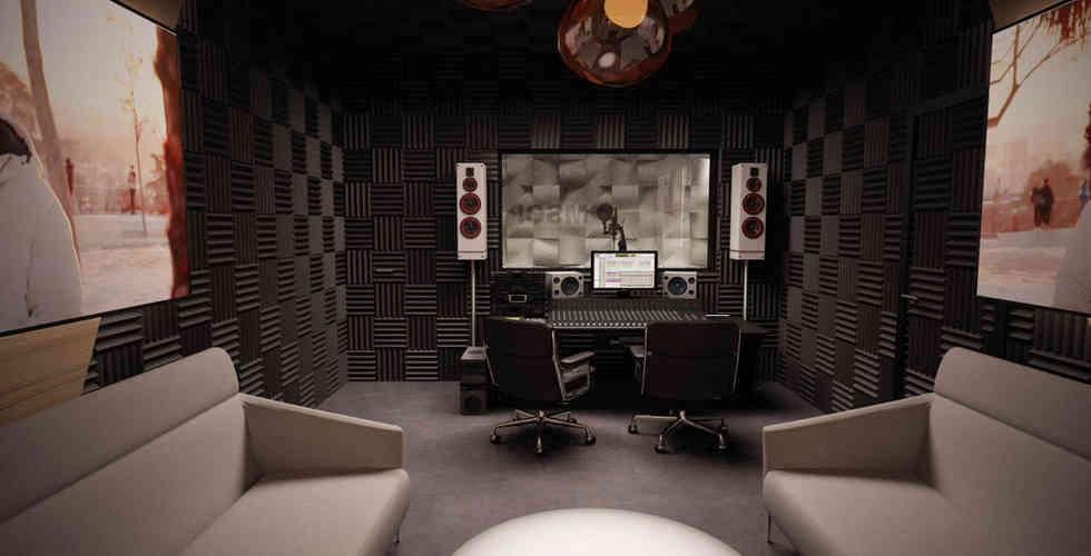 diseño y montaje de estudio de grabación