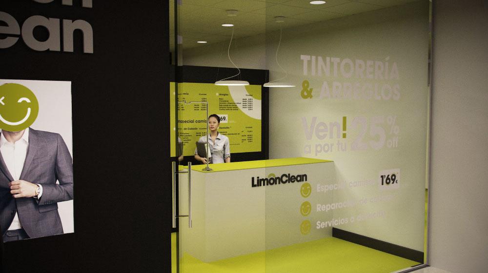 Diseño de tienda Limón Clean