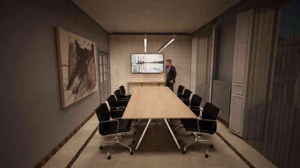 Decoración de oficinas en Madrid en Madrid