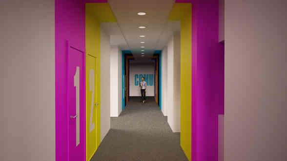 Gráfica decorativas para oficinas