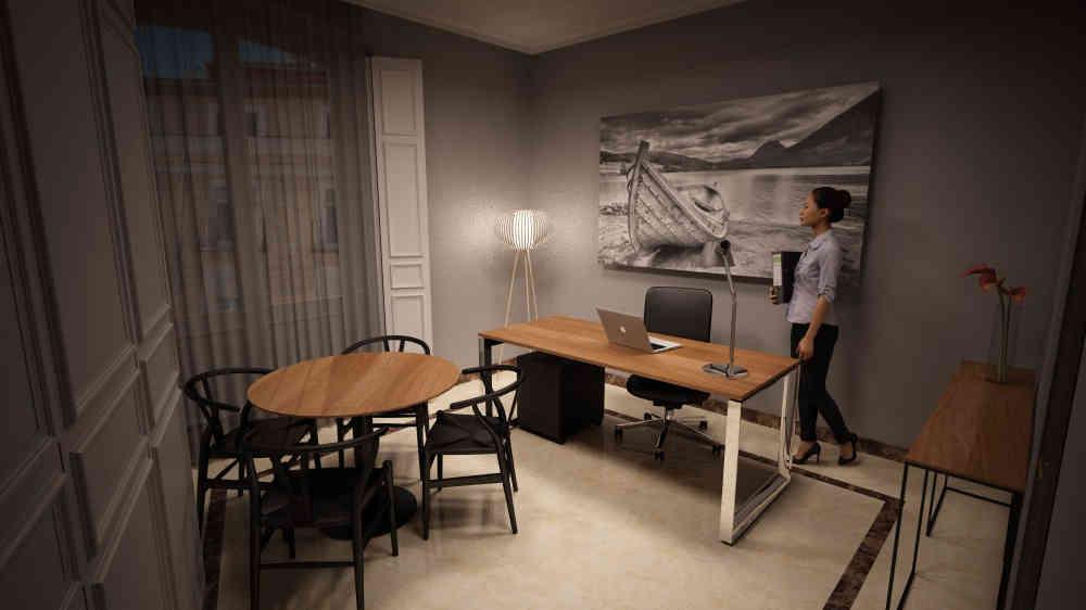 Decoración, reforma y suministro de mobiliario para Premier Corporate.