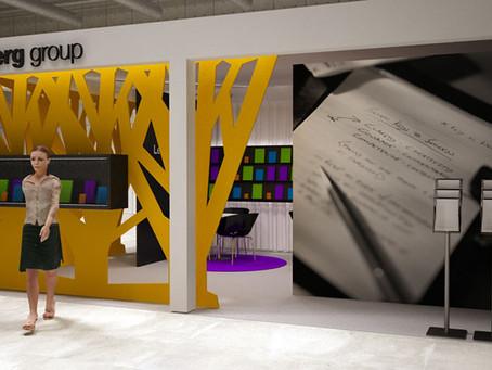 Diseño y montaje de stand modular para Lediberg Group en Promogift