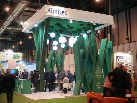 Diseño de stand y montaje de para la empresa Kimitec en Fruit Attraction 2015