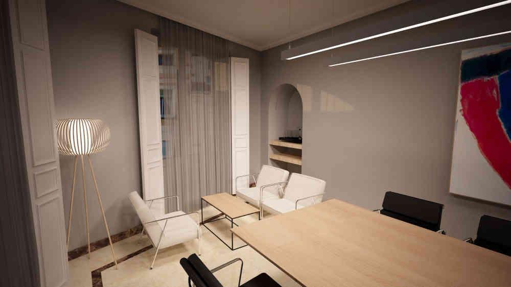 Montaje de oficinas para Premier Corporate