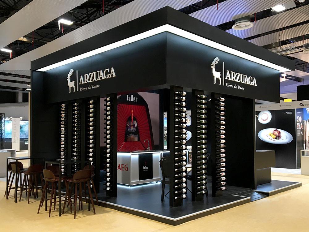 Fabricación y montaje de stand e Ifema para Arzuaga