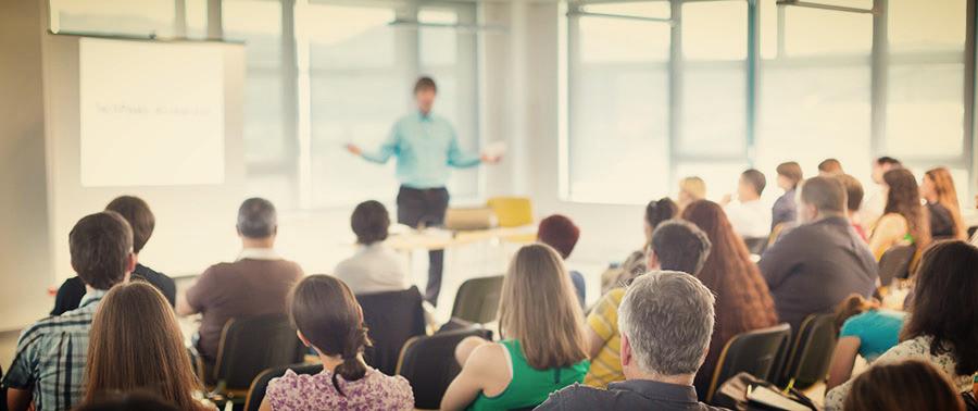 las conferencias forma parte de la organización de eventos.