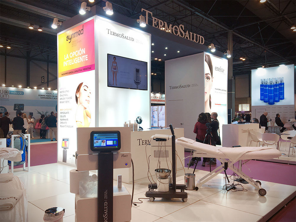 Diseño de stands para Termosalud en MadridLook 2017