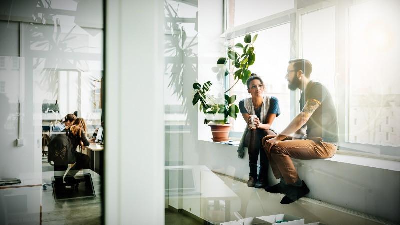 reforma y diseño de oficina para crear una buena experiencia en el empleado.