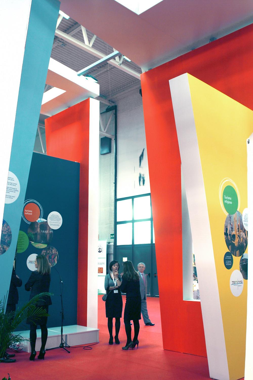 Diseño y montaje de stand en Intur Valladolid
