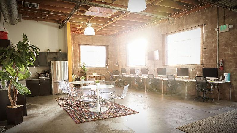diseno de oficina estilo industrial
