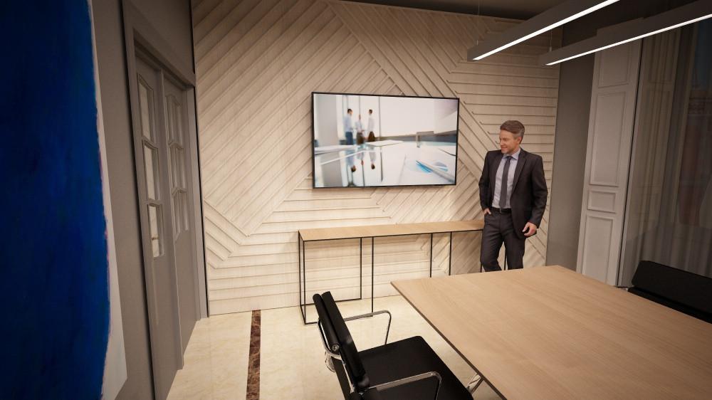 reforma de despacho de abogados en Madrid y suministro de mobiliario de oficina