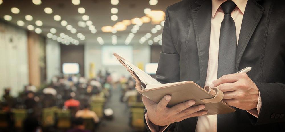 Organización de eventos empresariales y control de redes