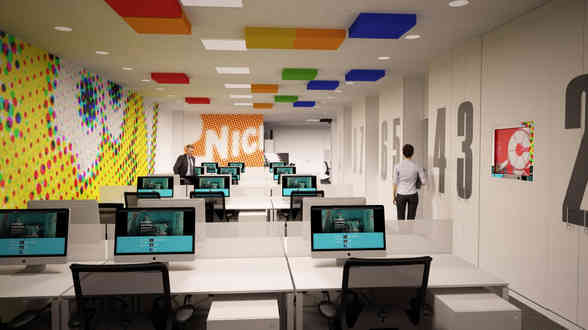 Decoración de oficina en Madrid