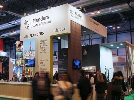 Diseño y montaje de stand para Turismo de Flandes en fitur 2015