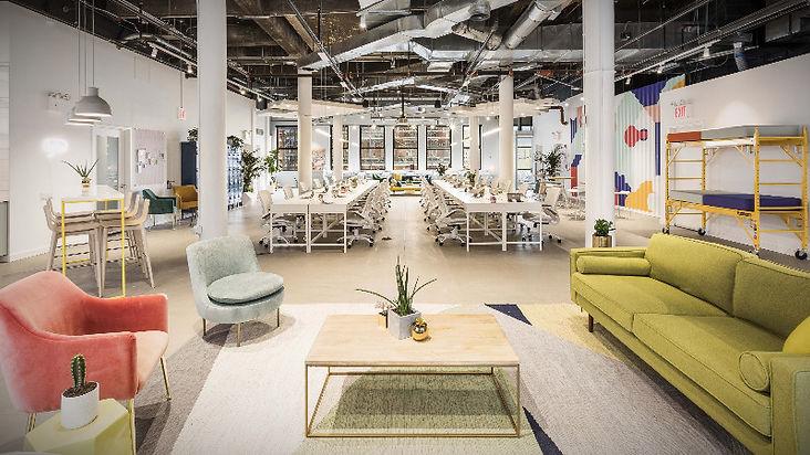 diseño de oficinas para el coworking