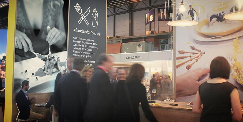 Diseño de stands para Flandes en Fitur 2016